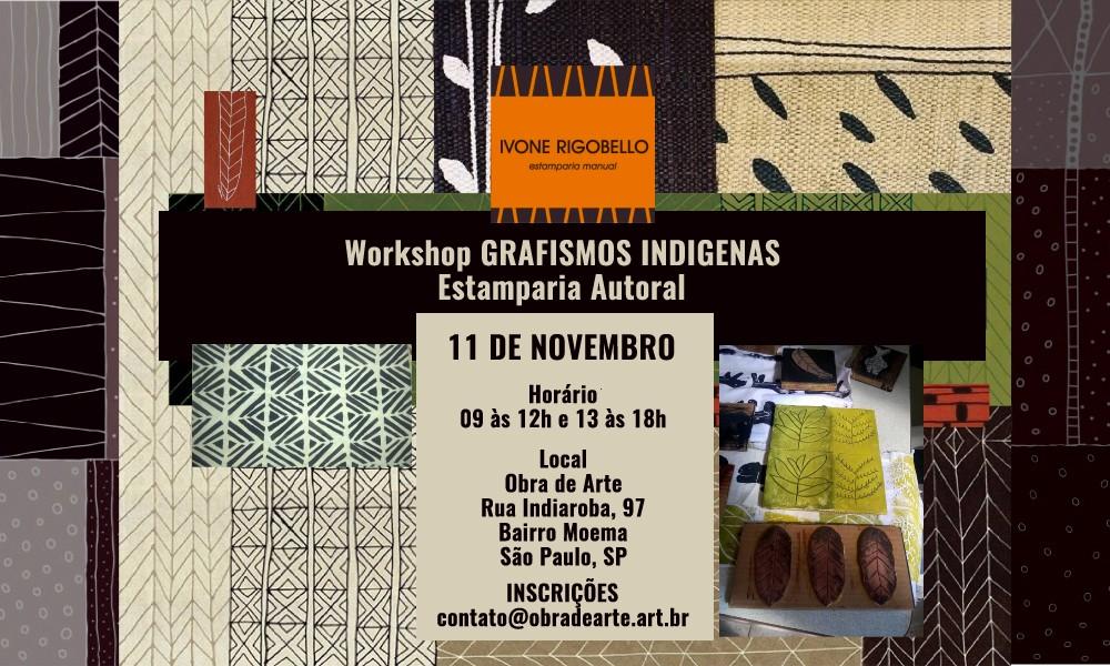 Workshop GRAFISMOS INDIGENAS